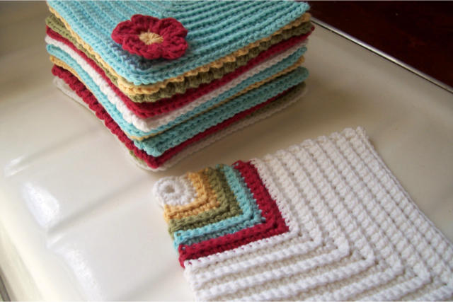 Dishcloths Crochet Again