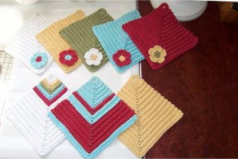 New Favorite! Diamond Dishcloths