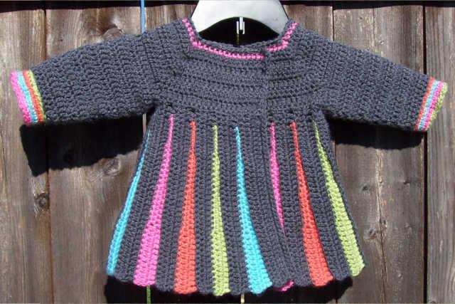 d9ca59b49ca5 Eloise Baby Sweater – Crochet Again