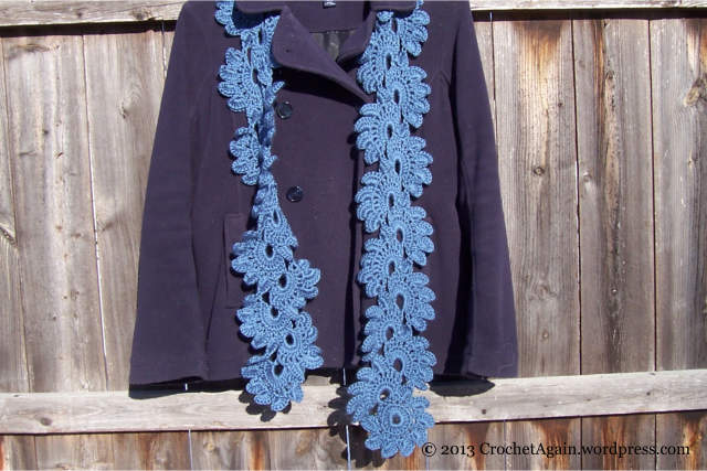 BlueLotusFlowerScarf