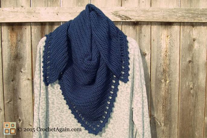 Just Right Crochet Shawl 2