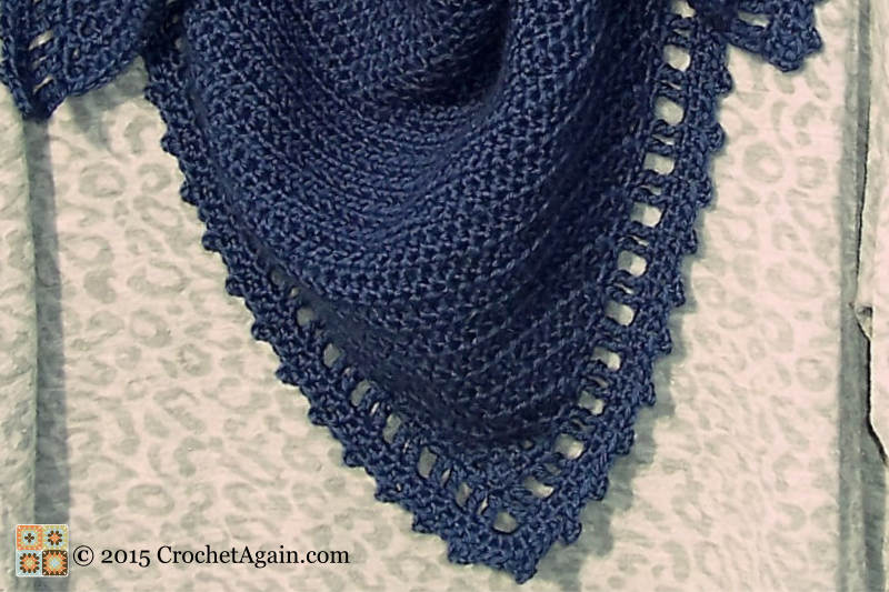 Just Right Crochet Shawl Border