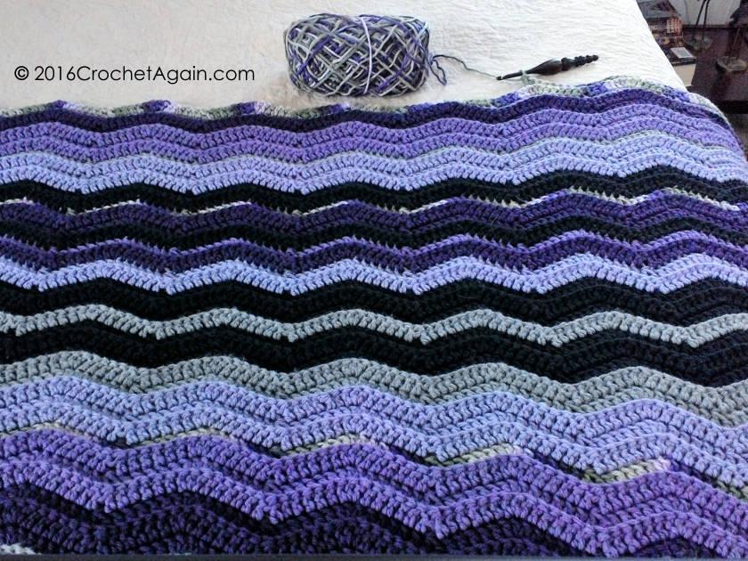 Resful Ripple Crochet Afghan 2